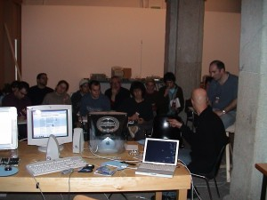 Workshop at Cibervision, Madrid 2002