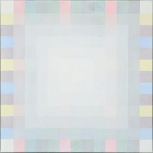 Majolica 13x13; 2014-; olieverf op doek; 60 x 60 cm