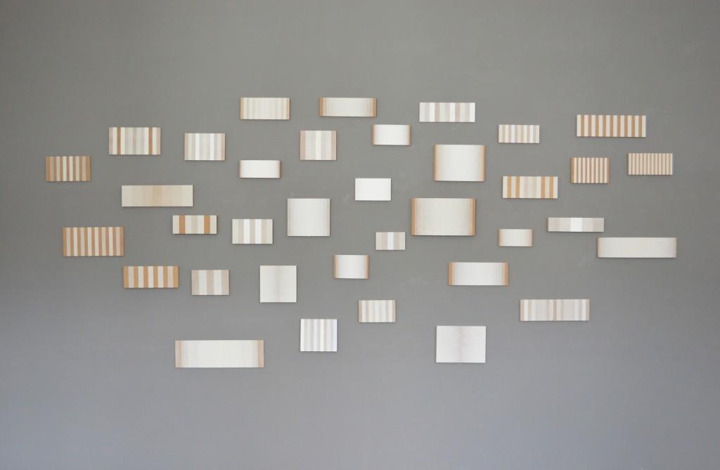 Winterreis, multiple, acryl en olieverf op hout, ca. 350 x 150 cm