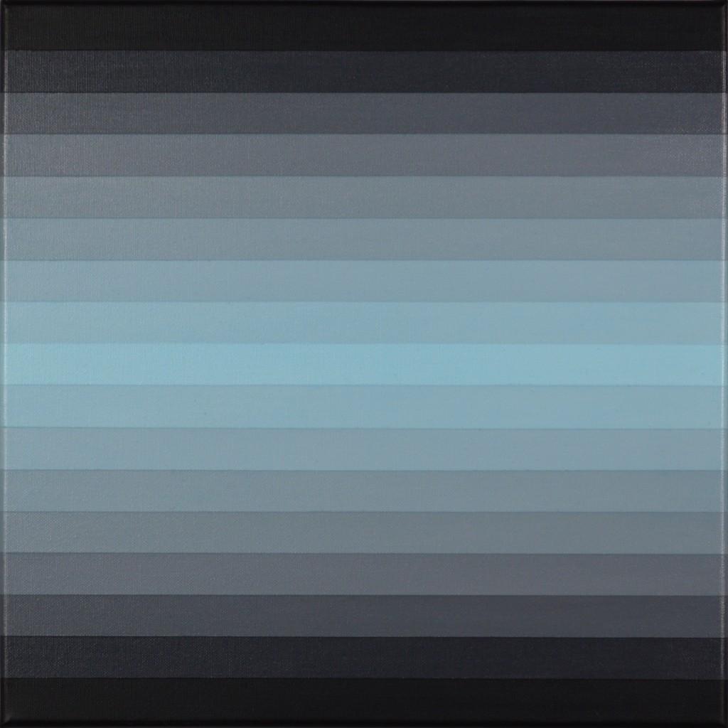 17, cerulean on grays, 2015, acrylic on canvas, 40x40cm